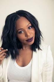 Blunt Cut Bob Hairstyle 61 Best Middle Part Bob Images On Pinterest Hairstyles Hair And