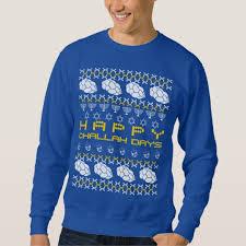 happy hanukkah sweater happy challah days sweatshirt zazzle