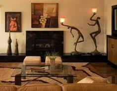 African Themed Living Room Home Design Ideas - Safari decorations for living room