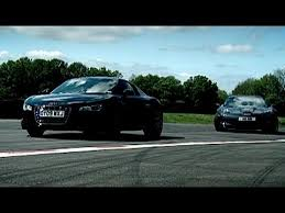 corvette vs audi r8 corvette zr1 vs audi r8 now in hd top gear series 14