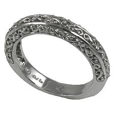 vintage filigree wedding bands antique wedding bands shipping terra s jewelry