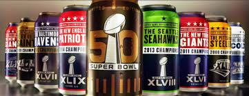 bud light in the can bud light unveils first ever super bowl series cans va eagle