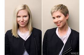women haircuts with cowlick making the cut and going drastically short vogue