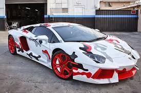 who made the lamborghini aventador supercar top 10 weirdest paintjobs