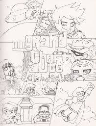 gta 5 colouring in pages grand theft auto v coloring pages