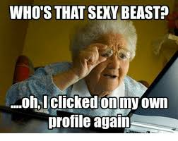 Sexy Adult Memes - who s that sexy beasta profile again meme on me me