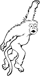 coloring pages monkey coloring pages kids