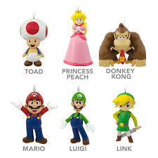 hallmark nintendo resin ornaments thinkgeek