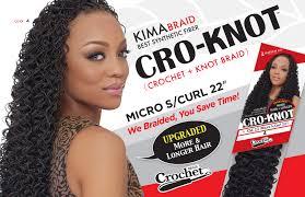 micro crochet hair kima cro knot micro s curl 22 inches