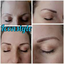 Eyebrow Tattoo Before And After Permanent Makeup Eyebrows Guildford Eyebrow Tattoos Iconstyle