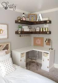 Diy Desk Decor Ideas Best 25 Corner Desk Ideas On Pinterest Corner Shelves Diy