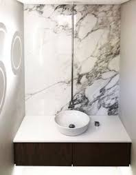 caesarstone white shimmer vanity in 20mm thickness for a more