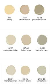 neutral paint colors from benjamin moore paints for the home