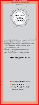 door hanger flyer template door hanger print specifications expresscopy