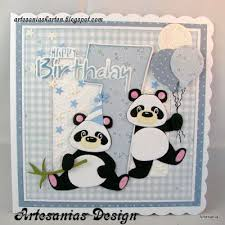 163 best cards panda images on pinterest mft stamps pandas and