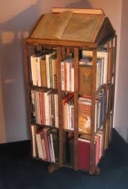 decorating breathtaking revolving bookcase for charming home