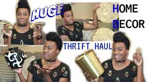 home decor thrift haul goodwill beam thrift store