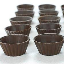 chocolate cups truffle shells buy edible chocolate cups