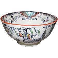 lovely english waste bowl oriental design tamerlane bell from
