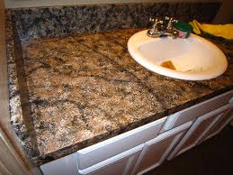 How To Paint Faux Granite - diy faux granite countertop u2026 without a kit for under 60 faux