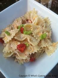Pasta Salad Recipe Mayo by Southwest Ranch Chicken And Bowtie Pasta Salad Recipe Summer