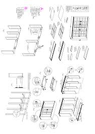 Mainstays 3 Shelf Bookcase White by 3 Shelf Bookcase Instructions Thesecretconsul Com