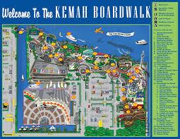 Galveston Island Map Map Of Kemah Boardwalk Restaurants Kemah Boardwalk 215 Kipp Ave