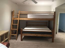 King Bunk Bed Custom Bunk Beds Extended Loft Or King Bunk Bed
