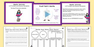 roald dahl matilda primary resources story books page 1