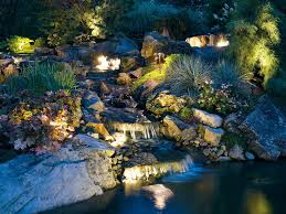 Led Outdoor Landscape Lighting Led Outdoor Landscape Lighting On The Backyard Ponds With