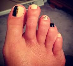 peach black gold my toe nail design makeup nails nails nails
