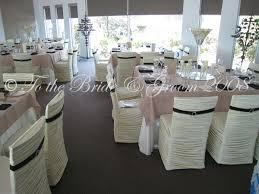 fitted chair covers cesley s for the 39s chair we chose a bustled ivory