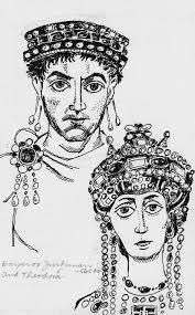 pen portraits emperor justinian and theodora byzantine emperor