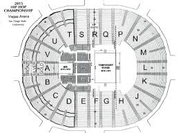 Grand Arena Grand West Floor Plan by Viejas Arena San Diego Tickets Schedule Seating Charts Goldstar
