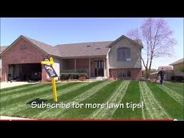 How To Make A Putting Green In Your Backyard Lawn Striping How To Mow Stripes In Your Lawn Youtube