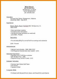 high school resumes high school student resume exles best resume collection