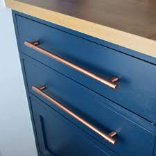Kitchen Cabinet Drawer Handles Modern Copper T Pull Handle Drawer Pull Cabinet Hardware