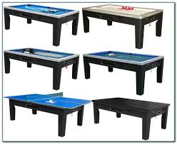 pool table air hockey ping pong combo awe inspiring on ideas about
