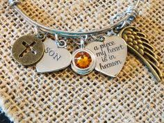 Personalized Remembrance Gifts Mommy Of An Angel Personalized Remembrance Necklace Engraved