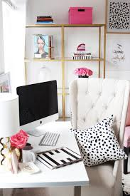 Home Wall Mural Ideas And Trends Home Caprice Home Office Just Bella Gold And Girly Home Office With Girly