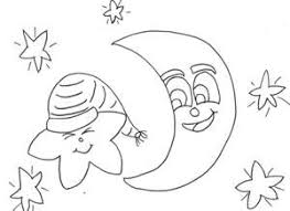 100 ideas moon and stars coloring pages printable on