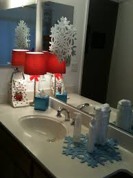 christmas decorations for bathroom decorating bathroom for