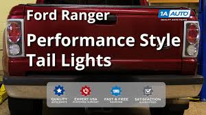 Ford Ranger Truck Parts - how to install replace tail lights 2001 04 ford ranger youtube