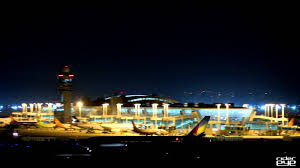 rx10m2 4k incheon international airport rwy34 in night 4k 인천국제