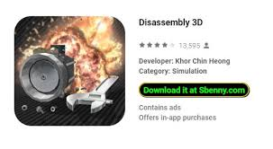 disassembly 3d unlocked mod apk android free download