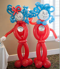 Thing One And Thing Two Party Decorations Birthday Party Ideas Blog Delightful Dr Seuss Thing 1 And
