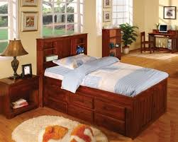 twin captains bed with bookcase headboard 49 full size captains bed with bookcase headboard twin captains bed