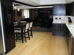 black laminate kitchen cabinets black laminate kitchen flooring recette