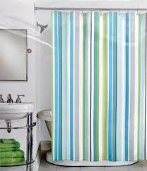 Vertical Striped Shower Curtain Amusing Vertical Striped Shower Curtain Scintillating Green And