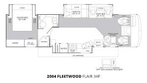2004 fleetwood flair 34f class a gas u2013 stock c00037 the rv man